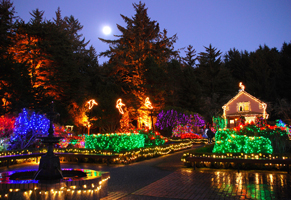 26th annual Holiday Lights at Shore Acres State Park - Oregon ...